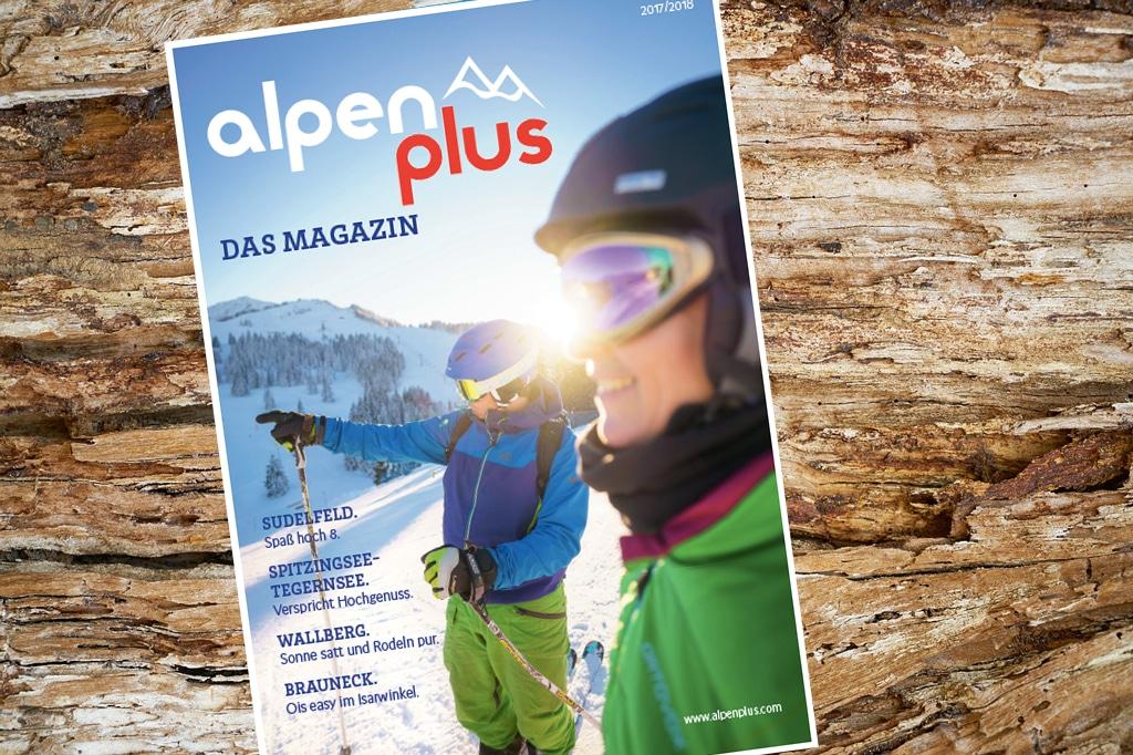 Alpen Plus Magazin 2017/18