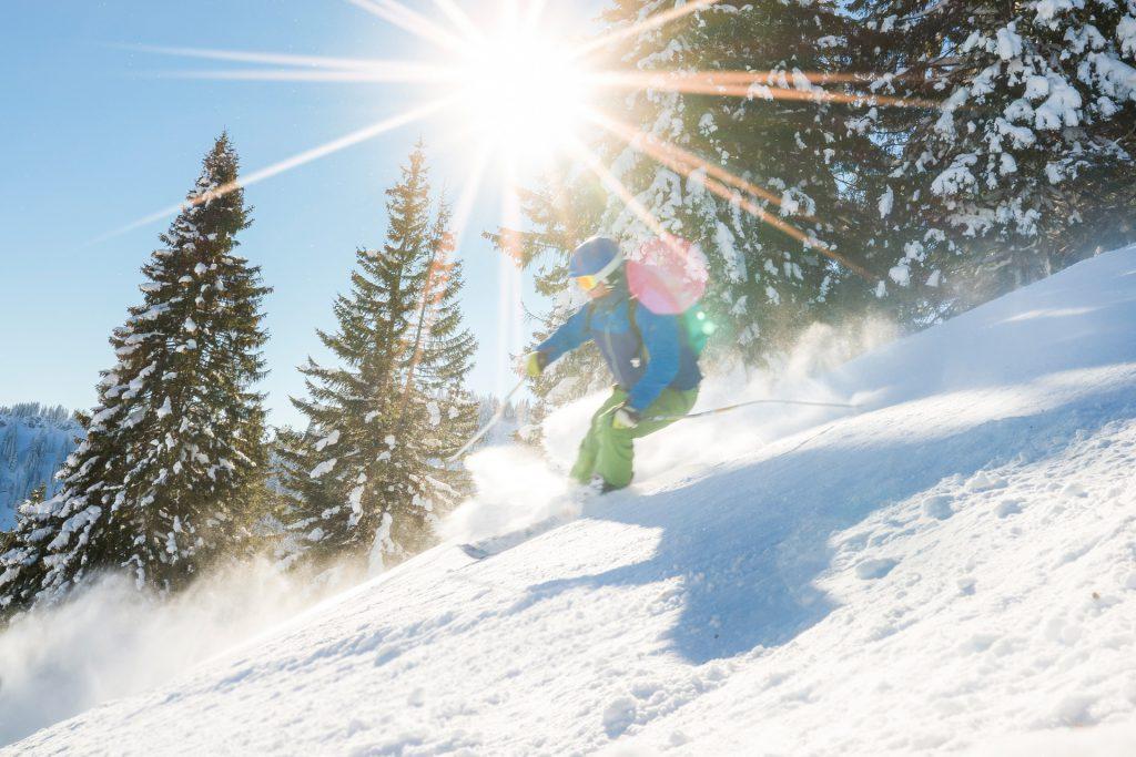 Skifahren am Spitzingsee