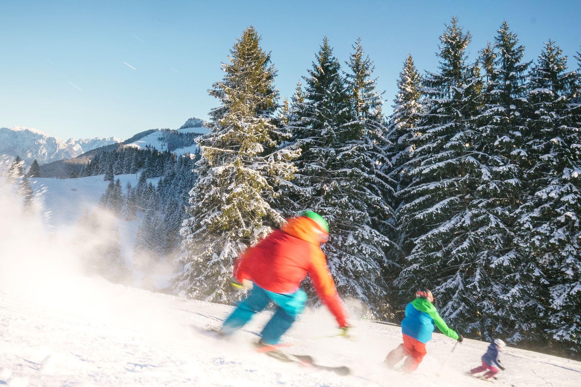 Skifahren am Sudelfeld