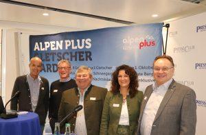 Alpen Plus Pressegespräch 23.10.2018 Presseclub München